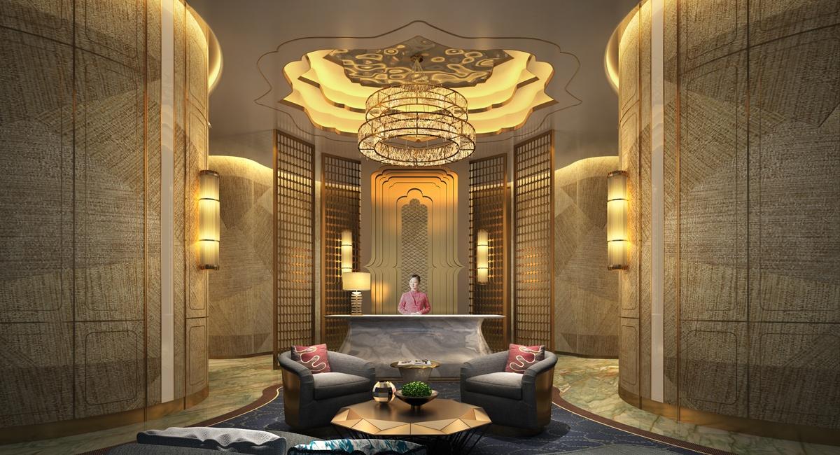 一分钟,带你了解中式度假酒店设计说明