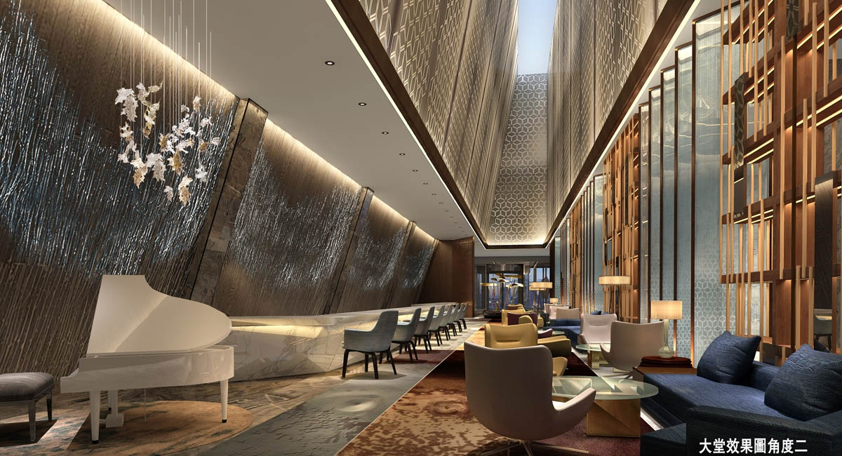 星级酒店大堂这样设计才能稳占先机