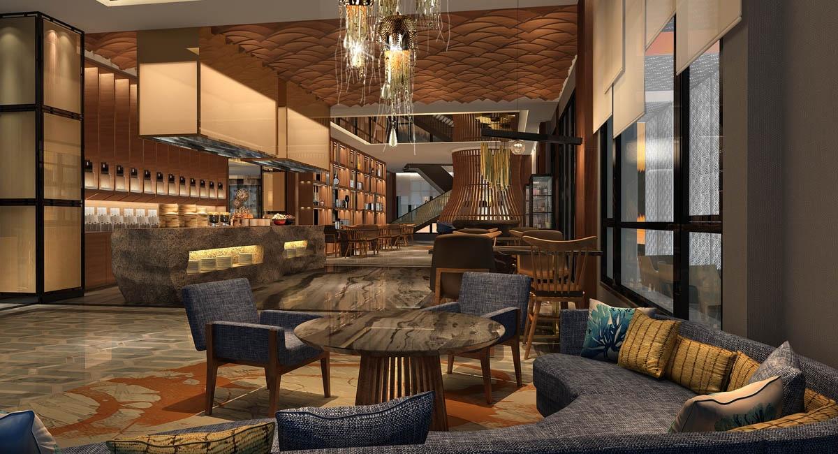 新中式主题酒店装修设计理念